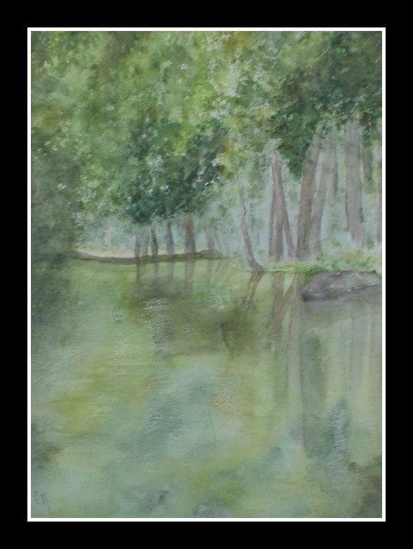 LA CHARENTONNE - aquarelle